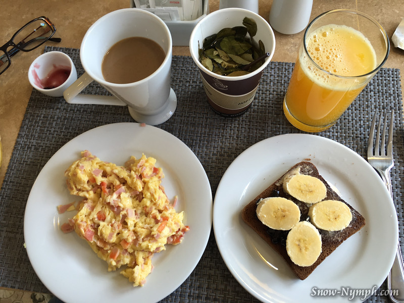 May 12, 2016  Breakfast at Casa Esmeralda