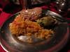 Dinner - Rice, Chicken and veggie