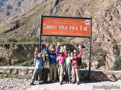 2016-05-15  Day 8 - Inca Trail to Machu Picchu (day 1 of 4)