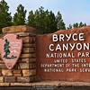 Entrance sign, Bryce Canyon National Park, Utah, USA | Eingangss