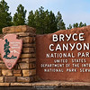 Entrance sign, Bryce Canyon National Park, Utah, USA | Eingangss