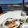 Lunch and view at Terraces Cafe