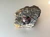 July 1, 2016  Rock from Wrangell.  Garnet in rock, only kids are allowed to dig for them and sell.