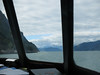 July 4, 2016  Front view from our seat on the way to Haines