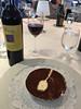 Tiramisu for dessert.  every cabin got a bottle of wine