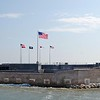 Fort Sumter where the 1st shots of the Civil War were fired