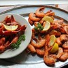 Delicious food @ Hyman's Sea Food in Charleston, SC