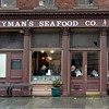 Famous Hyman's Sea Food restaurant