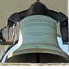 A Meneelly bell.  There is one about this size in the chapel in Waccabuc.