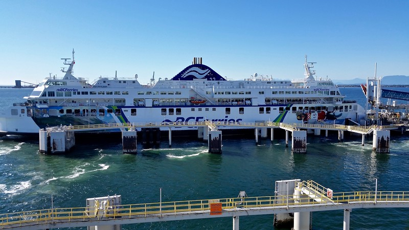 01 BC Ferry to Vancouver Island; July 28, 2016