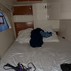 Bed in stateroom
