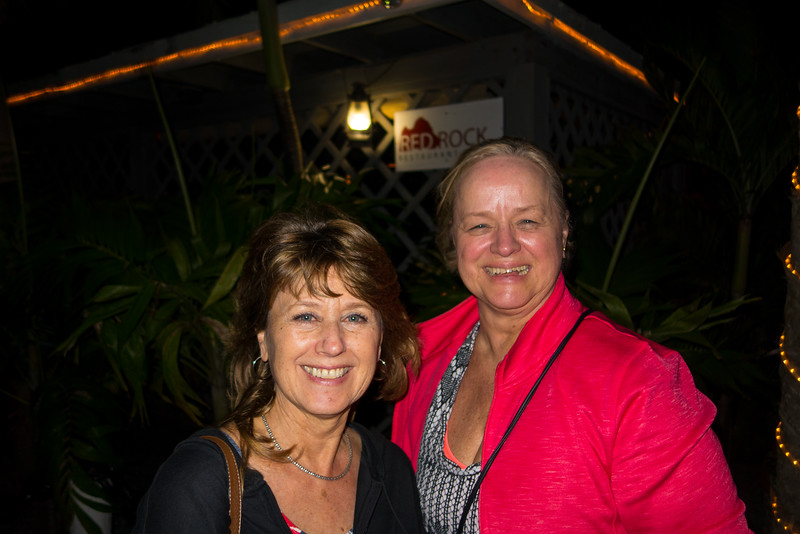 Maureen and Marcia at Red Rock Restaurant, Totola