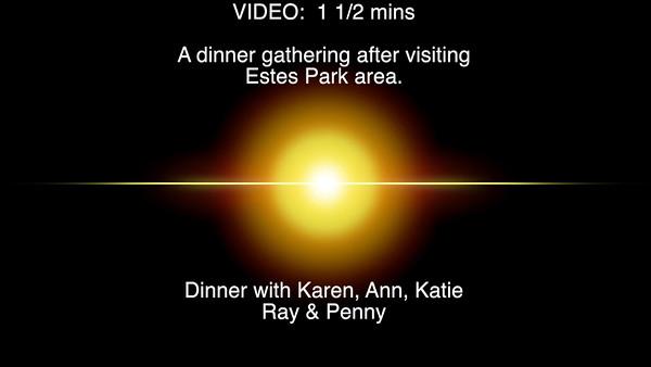 VIDEO: 1 1/2 mins. - Pasta Jays, Boulder, Colorado.