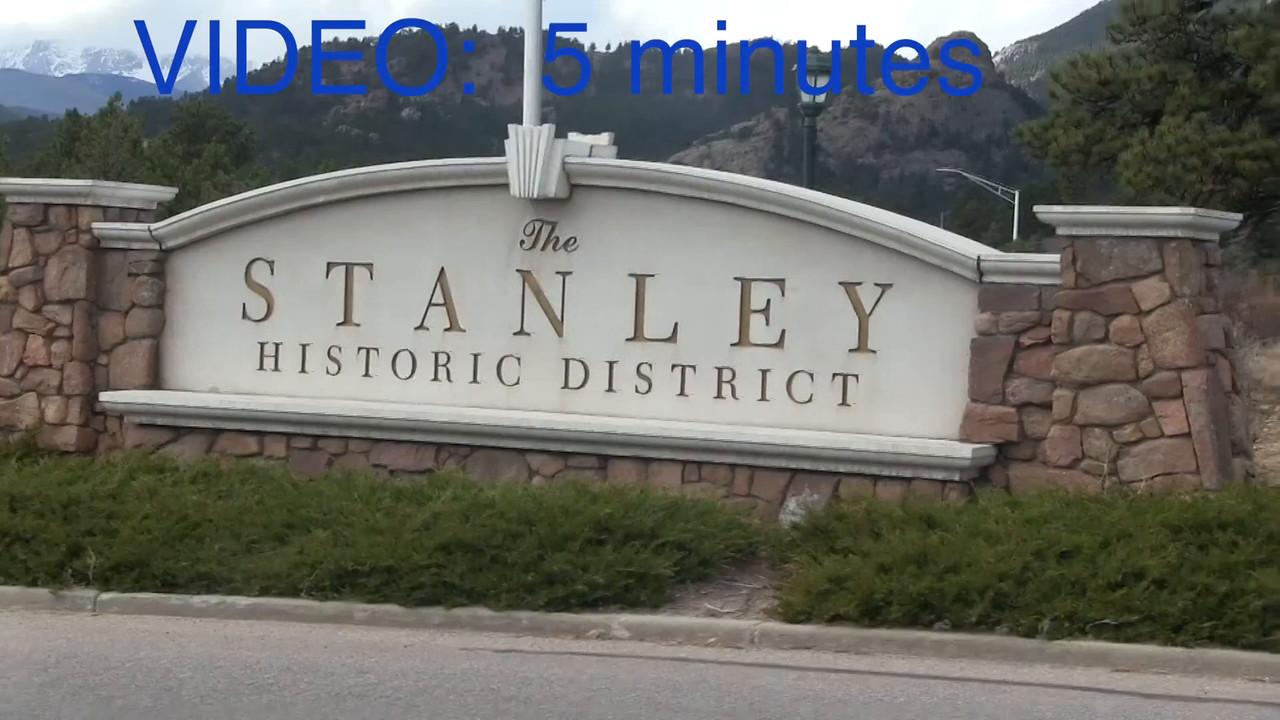 VIDEO:  5 mins.--Stanley Hotel, Estes Park, Colorado