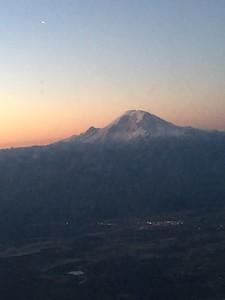 Mt. Rainier flyover