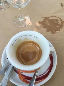 Espresso to counter the jet lag