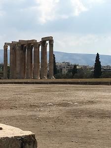 Zeus's temple Athens, Greece