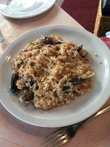 seafood risotto, Messina Italy