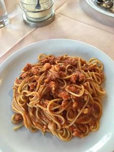 Spaghetti bolonese, Messina, Sicily