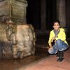 Basilica Cistern - Medusa Pillar