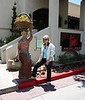 JoAnn and Statue