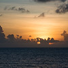 Sunrise over the south Pacific - a glorious day awaits