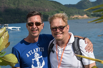 Jerry and Wesley at Maroe Bay