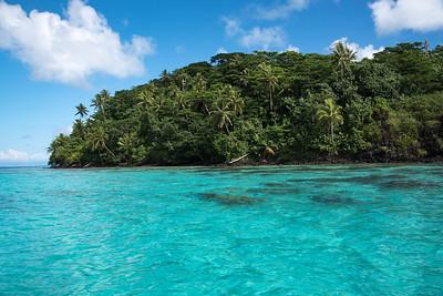 Our swim spot; paradise!