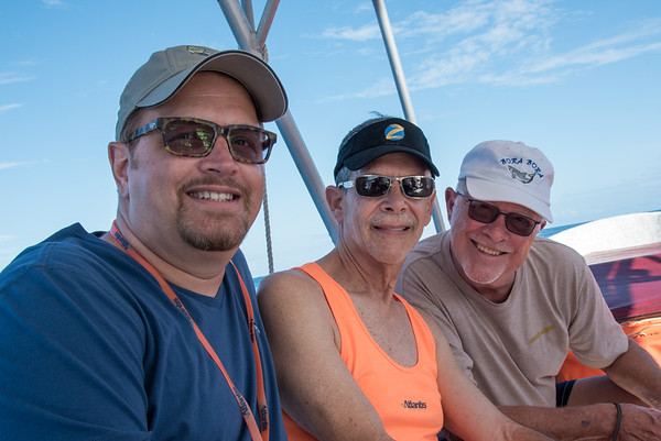 Wesley, Keith, and Bill
