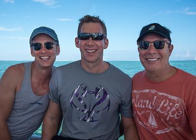 Charley, Michael, and Randy