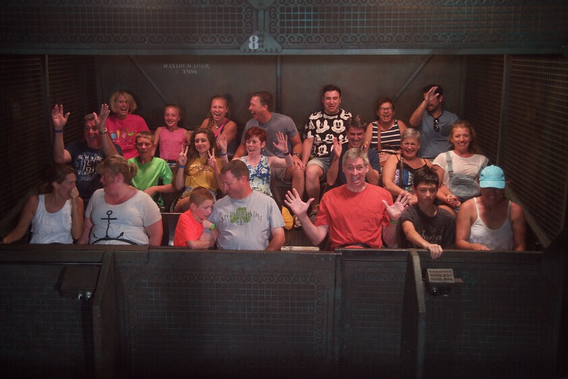 Riding the Tower of Terror!