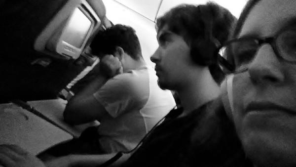 Plane ride boredom