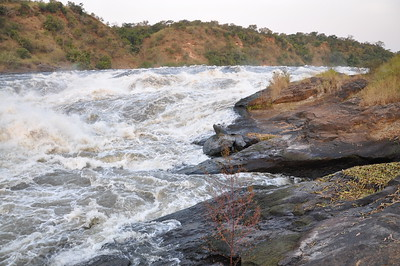 Top of Murchison Falls