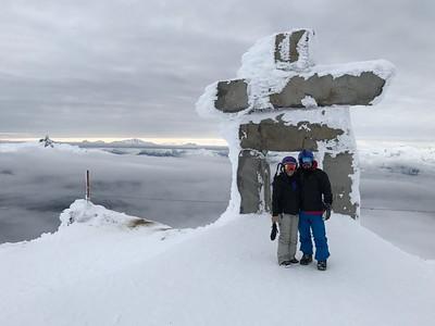 2017-01-25  Day 2 at Whistler/Blackcomb, BC