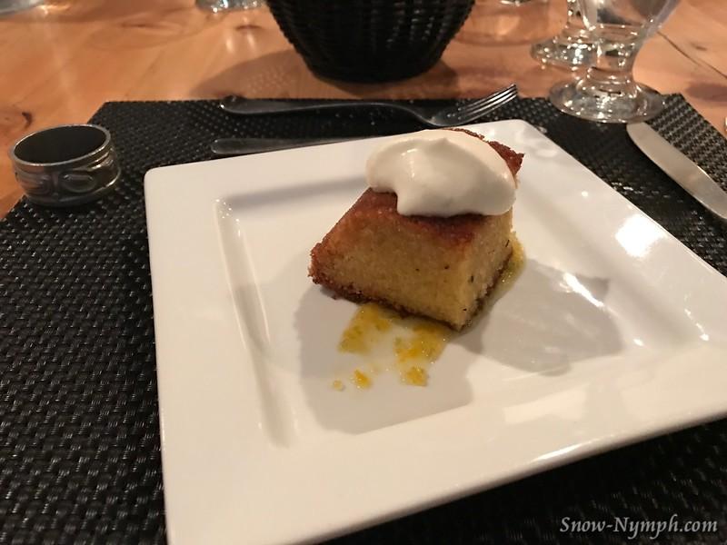 Italian Sponge Cake, Lemon
