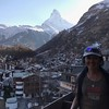 2017-03-27  The Matterhorn from our room at Hotel Bella Vista