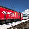 Glacier Express Train, we got to go outside for 7 min while train was stopped  (photo credit - Scott)