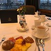 Awesome breakfast at the Hotel Storchen Restaurant