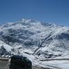 Ski resort on right