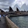 Kelly snaps the iconic Sydney Opera House