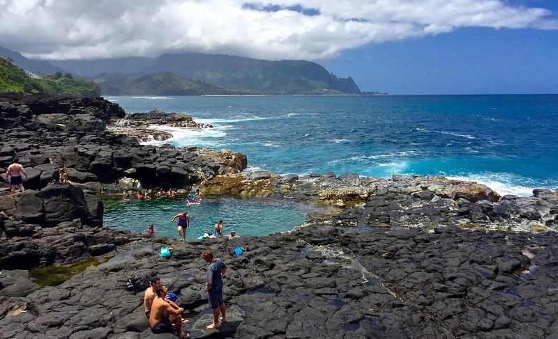 018  Queens Bath, N. Kauai