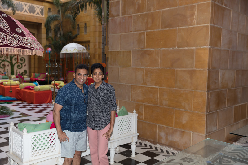 Day 2 - Breakfast at Leela Palace