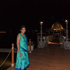 On our way to dinner - Day 1 - The Pier at Leela Palace