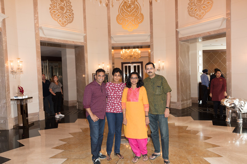 Welcome at Leela Palace Udaipur