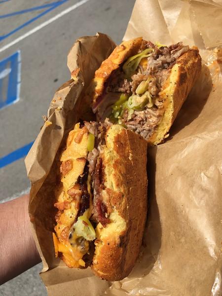 Amazing Tri Tip Sandwich!