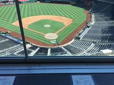 2016 - Nationals Park Stadium Tour