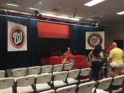 Inside the Press Room.