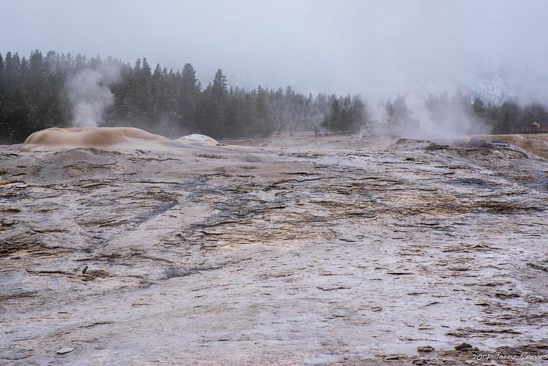 Old Faithful Geyser Basin