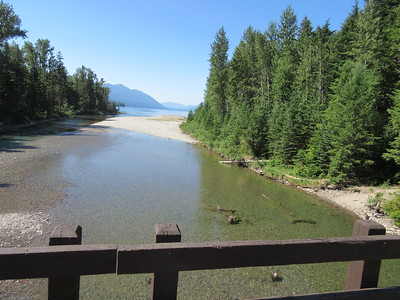 River confluence to Lake McDonald