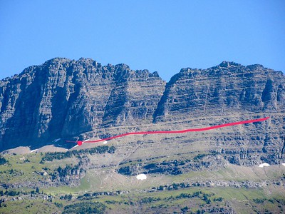 Yeah, that red line is where our tour bus will drive -- eek!